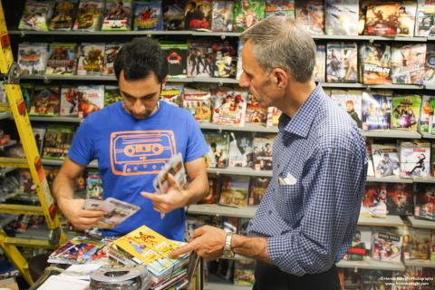 Le jeu vidéo en Iran : Quels jeux dans les boutiques ?