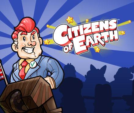 Citizens of Earth sur WiiU