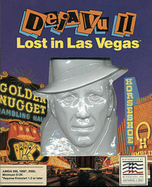 Déjà Vu II : Lost in Las Vegas sur Amiga