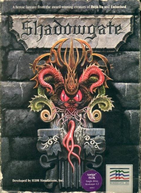 Shadowgate sur Apple 2