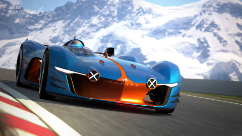 Gran Turismo 6 : L'Alpine Vision jouable gratuitement très prochainement !