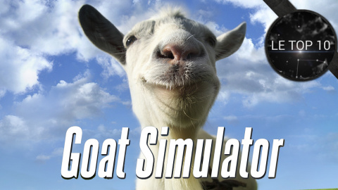 Top 10 : Les moments les plus WTF de Goat Simulator