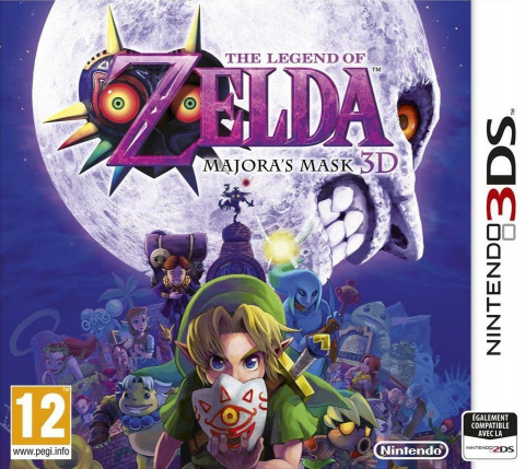 The Legend of Zelda : Majora's Mask 3D [DECRYPTED]