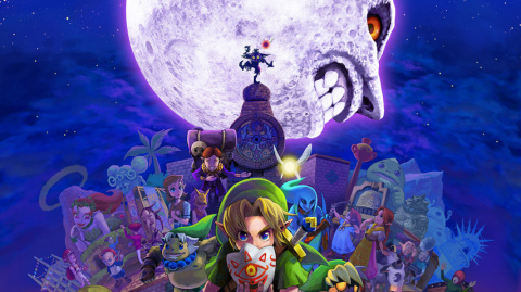 Jaquette de The Legend of Zelda : Majora's Mask 3D sur 3DS