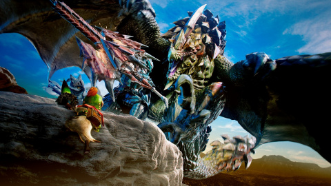 Jaquette de Monster Hunter 4 Ultimate, la chasse prend une nouvelle dimension sur 3DS