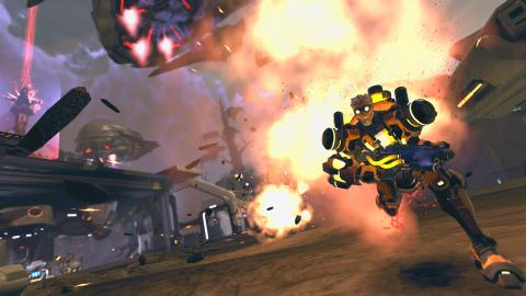 Firefall illustre sa mise à jour 1.3 avec de nouvelles images