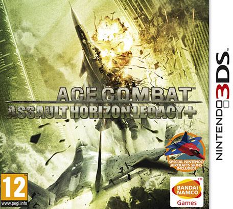 Ace Combat : Assault Horizon Legacy Plus.3DS-ABSTRAKT