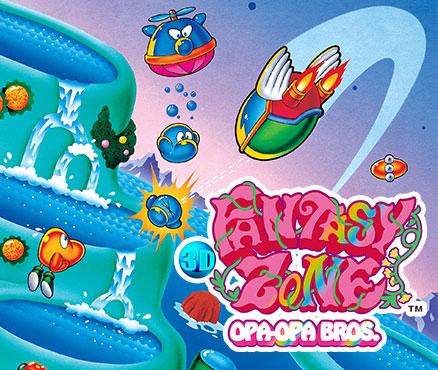3D Fantasy Zone - Opa-Opa Bros. sur 3DS