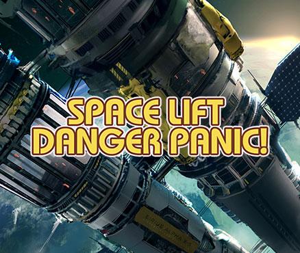 Space Lift Danger Panic ! sur 3DS