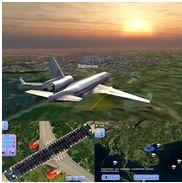 Flight World Simulator sur iOS