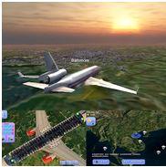 Flight World Simulator sur Android