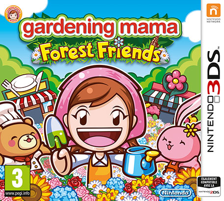 Gardening Mama : Forest Friends sur 3DS