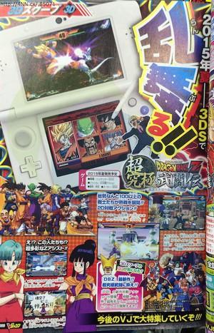 Dragon Ball Z : Extreme Butôden annoncé sur 3DS