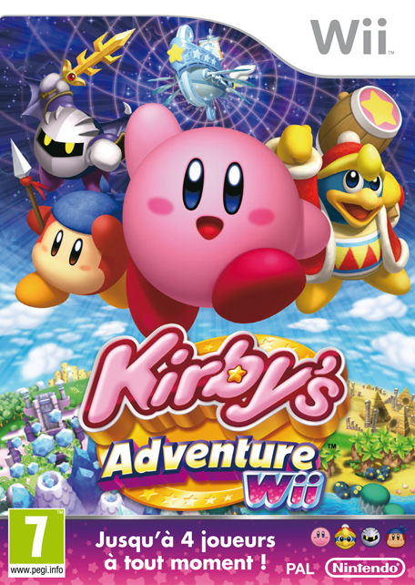 Kirby's Adventure Wii sur WiiU