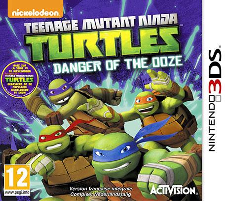 Teenage Mutant Ninja Turtles : Danger of the Ooze sur 3DS