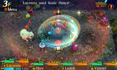 Etrian Mystery Dungeon entre dans la danse