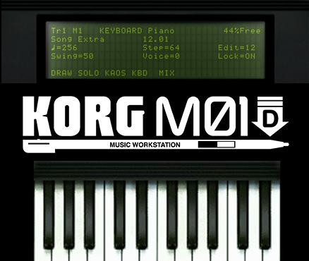 KORG M01D sur 3DS