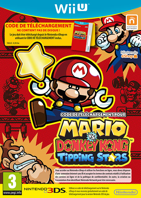 Mario vs. Donkey Kong : Tipping Stars sur WiiU
