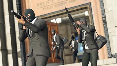 Grand Theft Auto V : Premières heures sur les braquages en ligne