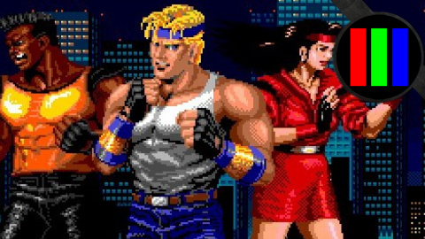 Cover revisite Streets of Rage