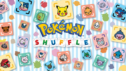 Jaquette de Pokémon Shuffle, un puzzle-game free-to-play dans l'univers Pokémon sur 3DS