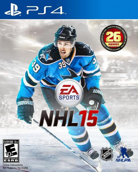 NHL 15 sur PS4