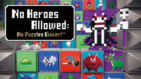 No Heroes Allowed: No Puzzles Either! sur Vita
