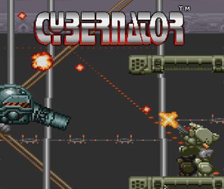 Cybernator sur WiiU