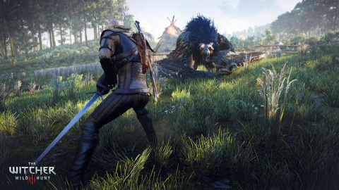 The Witcher 3 : Wild Hunt -  3 minutes de gameplay, au bonheur du contemplatif