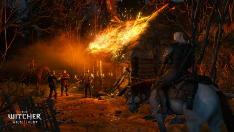 Jaquette de The Witcher 3 : 7 minutes de gameplay dévoilées à la PAX East
