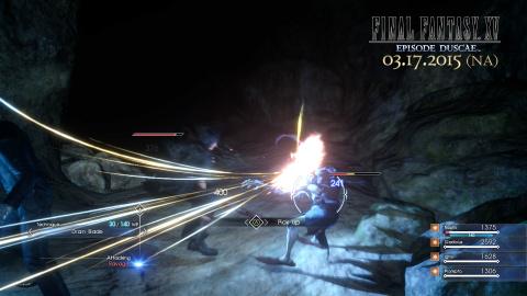 Final Fantasy 15 : Du gameplay souterrain