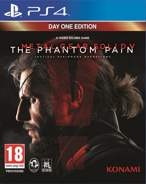 Metal Gear Solid V : The Phantom Pain sur PS4