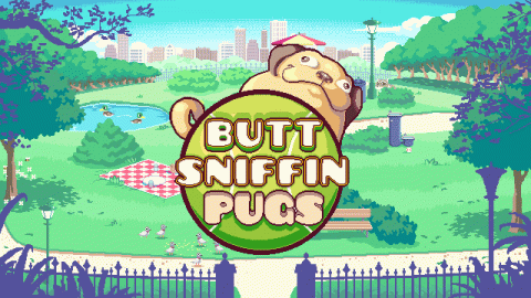 Butt Sniffin Pugs (Space Beagles)