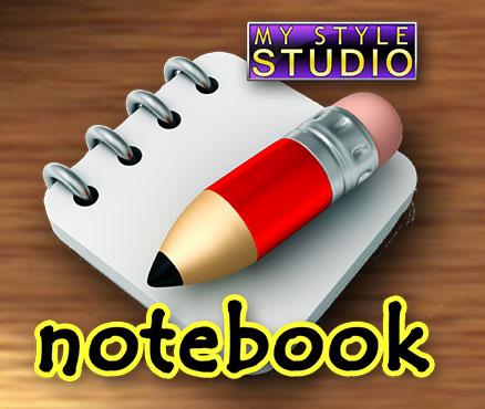 My Style Studio : Notebook sur WiiU