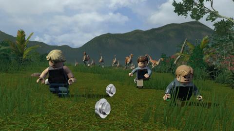 LEGO Jurassic World, les 4 films en 1