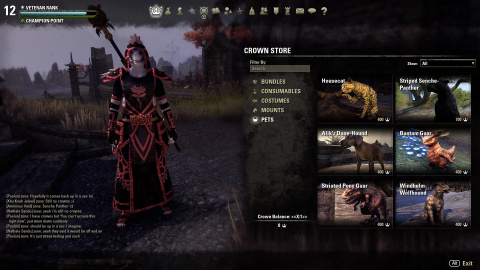 The Elder Scrolls Online - On fait le point sur la boutique du mode buy-to-play