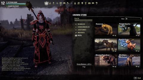 The Elder Scrolls Online - On fait le point sur la boutique du mode buy-to-play