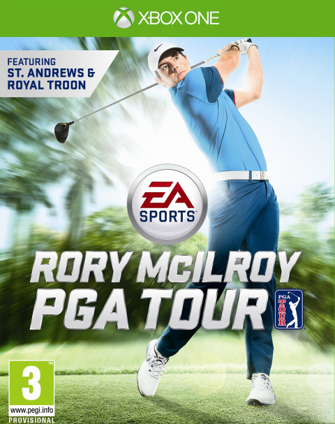 EA Sports Rory McIlroy PGA Tour 15 sur ONE