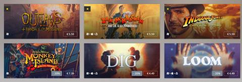 Nouvelle fournée de jeux LucasArts sur GoG.com