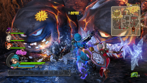 Dragon Quest Heroes : Quand la plus grande saga de RPG s'essaye au beat'em all