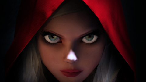 Jaquette de Woolfe : The Red Hood Diaries