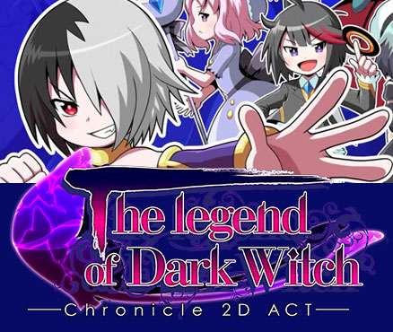 The Legend of Dark Witch - Chronicle 2D ACT sur 3DS