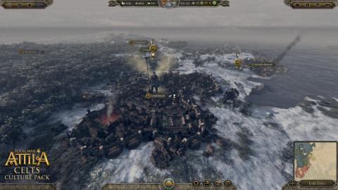 Total War Attila à feu et à sang