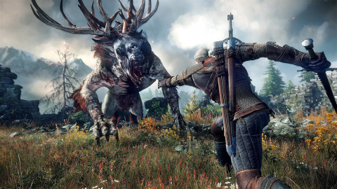 Jaquette de The Witcher 3 : Wild Hunt, en chasse sur PlayStation 4