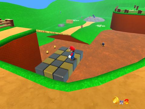 Jouez à Super Mario 64 en HD sur navigateurs Web