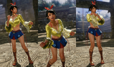 Tekken 7 présente Josie Rizal