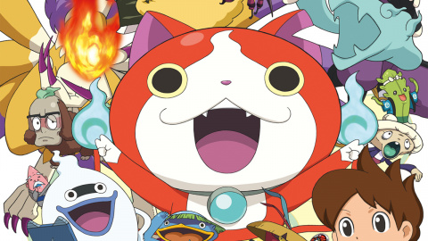 Jaquette de L'anime Yôkai Watch arrive en Europe