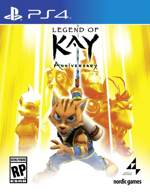 Legend of Kay Anniversary sur PS4