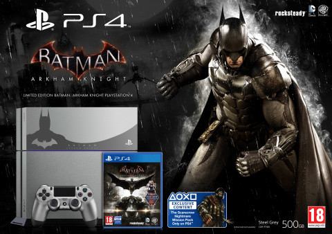 Une PlayStation 4 Batman Arkham Knight