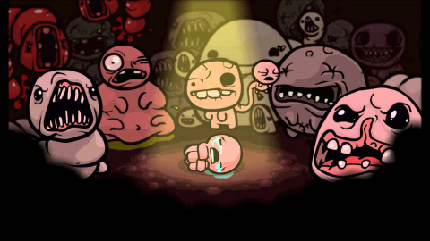 Jaquette de Une fourchette pour la date de sortie du DLC Afterlife de The Binding of Isaac Rebirth